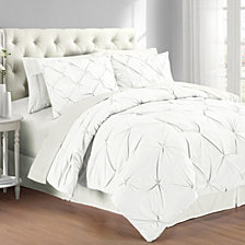 Premium Collection Twin Pintuck Bedding Comforter Set