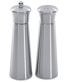 BergHOFF  Straight Stainless Steel Pyramid Salt & Pepper Set