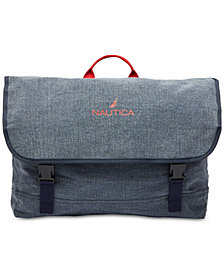 Nautica Men's Canvas Messenger Bag, Created for Macy's