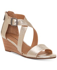 73390cf2e5e3 Naturalizer Cami Wedge Sandals   Reviews - Sandals   Flip Flops ...