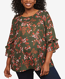 Motherhood Maternity Bell-Sleeve Top