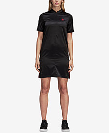 adidas Originals Satin Shirtdress