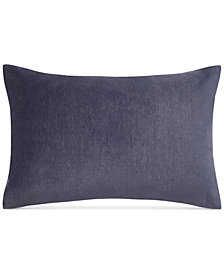 "Keeco Heathered Velvet 12"" x 18"" Oblong Decorative Pillow"