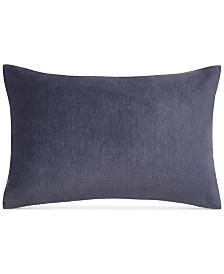 "Keeco Heathered Velvet 12"" x 18"" Oblong Decorative Pillow"