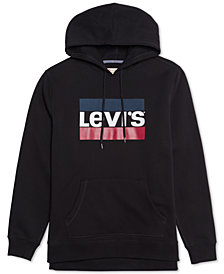 Levi's Men's Eden Graphic-Print Long-Sleeve Fleece