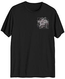 Men's Floral Squares T-Shirt