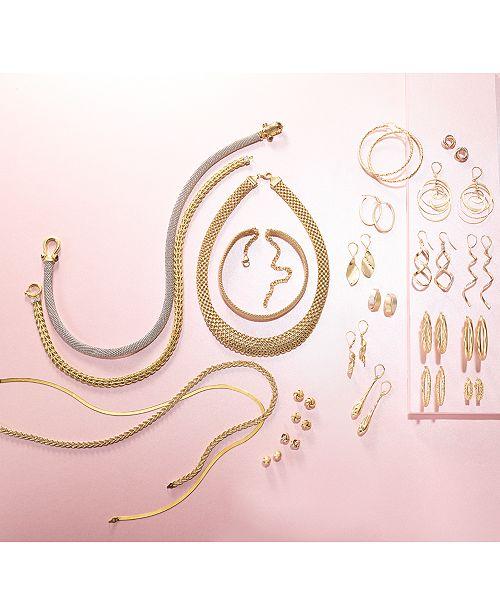 d20d67193e38 ... Italian Gold Love Knot Stud Earrings in 14k Gold or White Gold ...