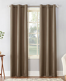 "Sun Zero Cooper 40"" X 95"" Textured Thermal Insulated Grommet Curtain Panel"