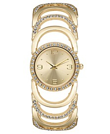Women's Crystal Accent Bracelet Watch 30mm, Created for Macy's