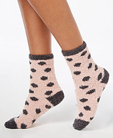 Charter Club Women's Metallic-Dot Socks, Created for Macy's