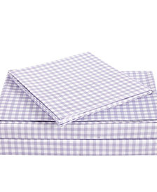 Truly Soft Everyday Gingham 3 Piece Twin XL Sheet Set