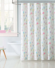 Laura Hart Kids Printed Shower Curtain Collection
