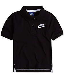 Nike Little Boys Futura Cotton Polo Shirt
