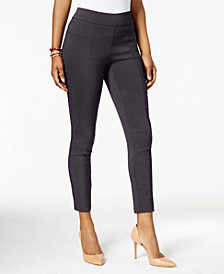 Style & Co Petite Ultra-Skinny Pull-On Pants, Created for Macy's