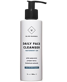 Watermint Gin Daily Face Cleanser, 5-oz.