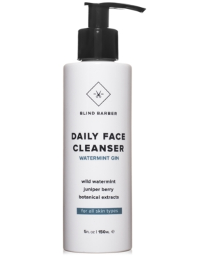 Blind Barber Watermint Gin Daily Face Cleanser, 5-oz.