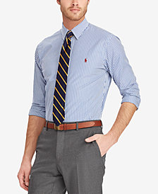 Polo Ralph Lauren Men's Big & Tall Classic-Fit Striped Shirt