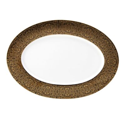 Antonia Gold Oval Platter