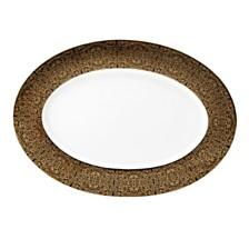Mikasa Antonia Gold Oval Platter