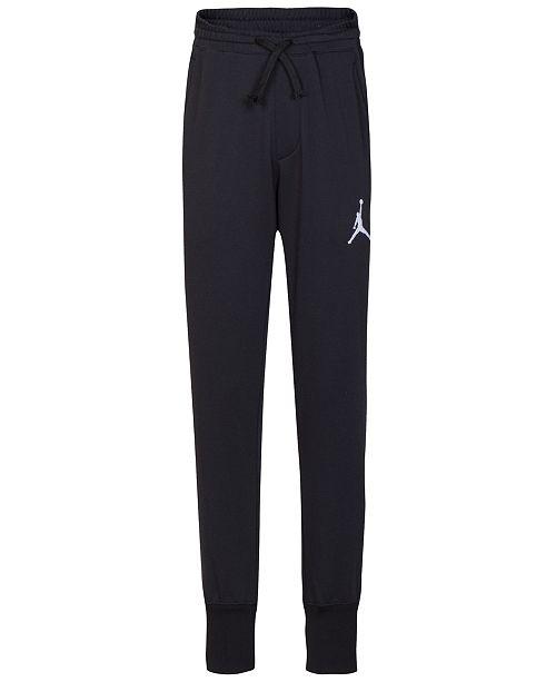 buy popular d59bd 2276d Jordan Big Boys Diamond Tricot Jogger Pants