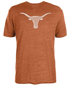 Authentic NCAA Apparel Men's Texas Longhorns Big Logo Triblend T-Shirt