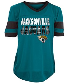 Jacksonville Jaguars Foil Football Jersey, Girls (4-16)
