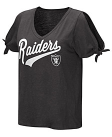 Touch by Alyssa Milano Women's Oakland Raiders First String T-Shirt