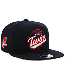 New Era Minnesota Twins Vintage 9FIFTY Snapback Cap