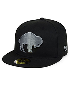 New Era Buffalo Bills Black Gray Basic 59FIFTY FITTED Cap