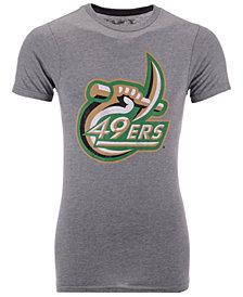 Retro Brand Men's Charlotte 49ers Alt Logo Dual Blend T-Shirt