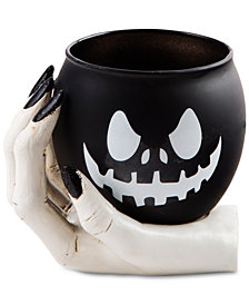 Home Essentials Jack-O-Lantern & Hand Votive Holder