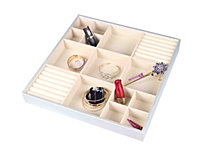 Home Basics Jumbo Jewelry Organizer