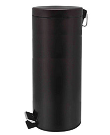 Home Basics 30 Liter Round Waste Bin