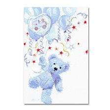The Macneil Studio 'Blue Teddy' Canvas Art