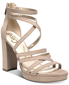 Circus by Sam Edelman Adele Strappy Dress Sandals