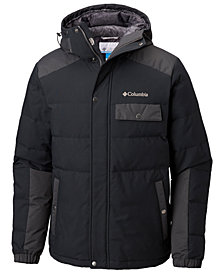 Columbia Men's Challenger Water-Resistant Insulated Hooded Jacket