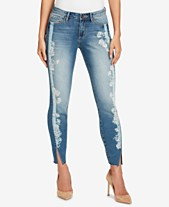 2762150ba25 Vintage America Petite Wonderland Printed Skinny Ankle Jeans