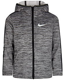 Nike Little Boys Elite Therma-FIT Full-Zip Hoodie
