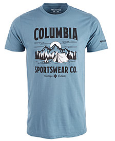 Columbia Men's Tent Life Logo Graphic T-Shirt