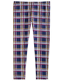Epic Threads Toddler Girls Plaid Leggings, Created for Macy's