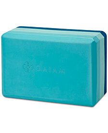 Gaiam Tri-Color Yoga Block