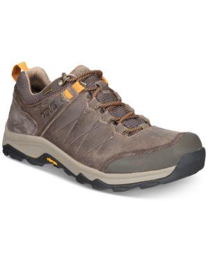 TEVA Men'S Arrowood Riva Waterproof Leather Boots Men'S Shoes in Walnut