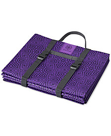 Gaiam On The Go Foldable Yoga Mat