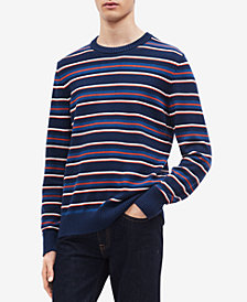 Calvin Klein Men's Allover Striped Sweater