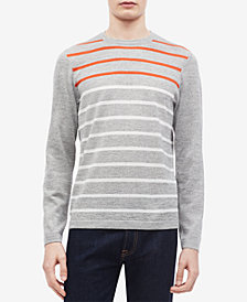 Calvin Klein Men's Colorblocked Stripe Sweater