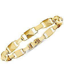 Women's Mercer Link 14K Gold-Plated Sterling Silver Bracelet