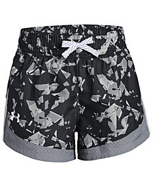 Under Armour Big Girls Sprint Printed Shorts