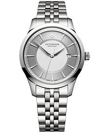Men's Swiss Alliance Stainless Steel Bracelet Watch 40mm