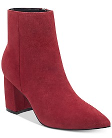 062f2ad76c9 Steve Madden Simmer Flare-Heel Booties   Reviews - Boots - Shoes ...