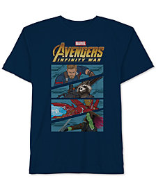 Marvel Little Boys Avengers Graphic Cotton T-Shirt